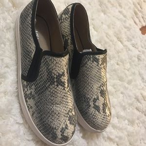 J/SLIDES Shoes - J Slides snakeprint slip on sneakers